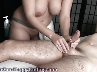 big boobs hidden cams Happy Ending 42