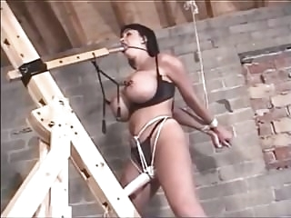 bondage latex Bound and gagged