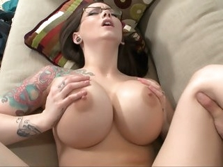 brunette big tits Big titted boss Ashton Pierce